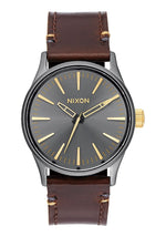 NIXON MONTRE SENTRY 38 LEATHER