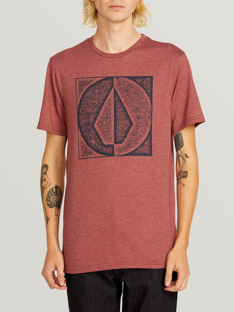 VOLCOM T-SHIRT STAMP DIVIDE