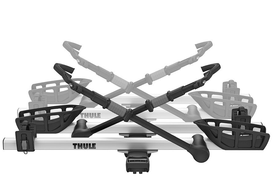 THULE T2 PRO XT EXTENSION / 2 PLACES / ARGENT / 2018