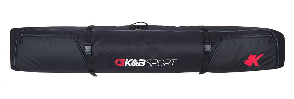 K&B SAC SKI DOUBLE LONG ROULETTE