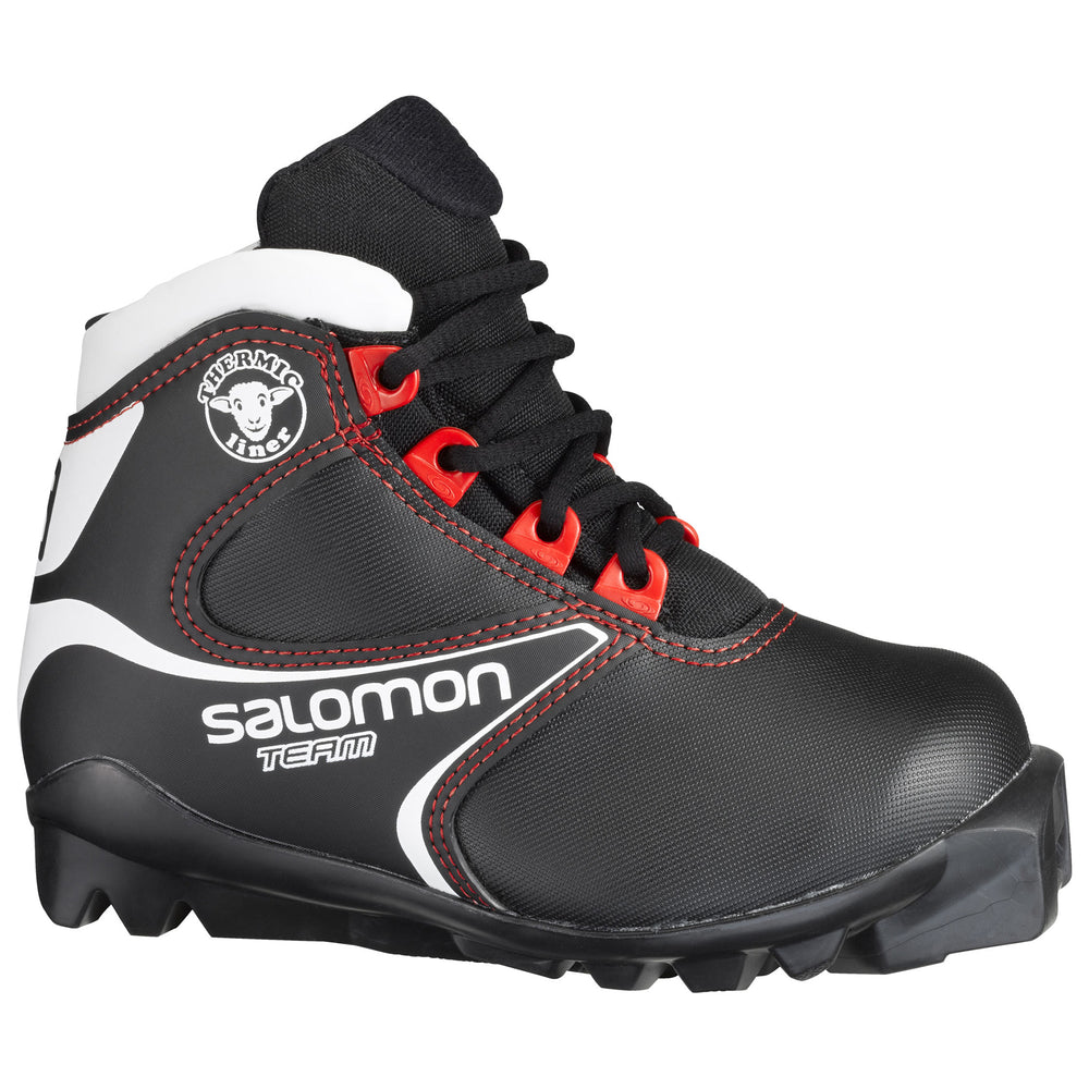 BOTTE SALOMON JUNIOR TEAM / NOIR-BLANC / 4.5