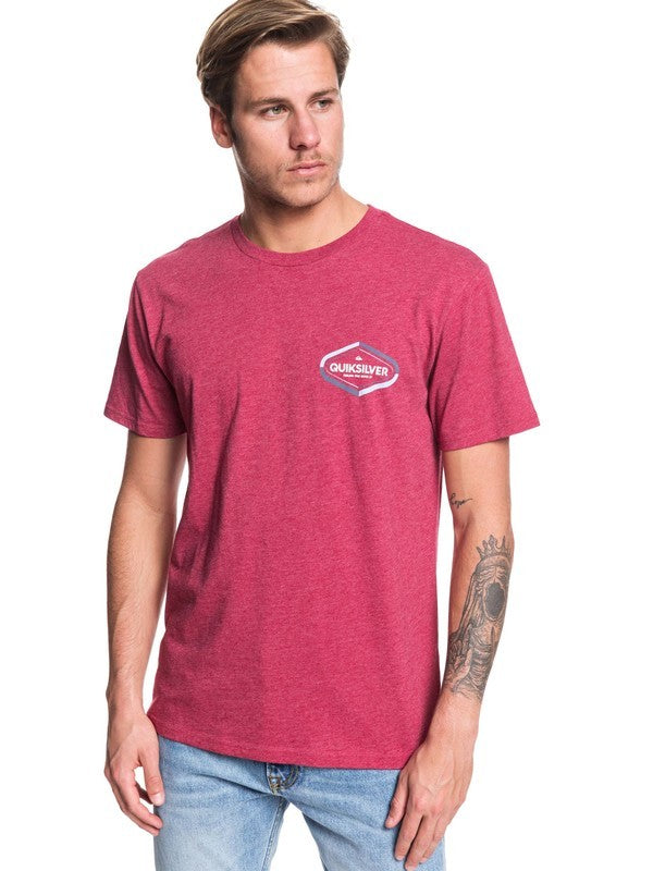 QUIKSILVER T-SHIRT SOLID FIND MOD