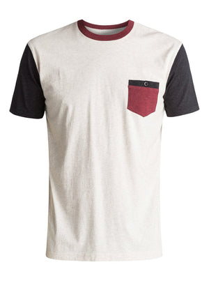 Quiksilver T-Shirt Baysic Pocket planete snowboard skateboard victoriaville