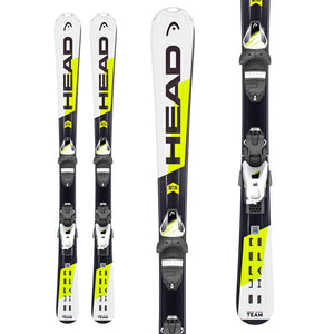HEAD SKIS SUPERSHAPE TEAM SLR 2 / SLR 4.5 AC BR 74 / JUNIOR
