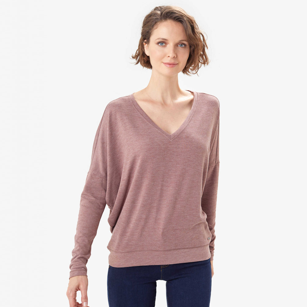 LOLE CHANDAIL DOWNTOWN V-NECK