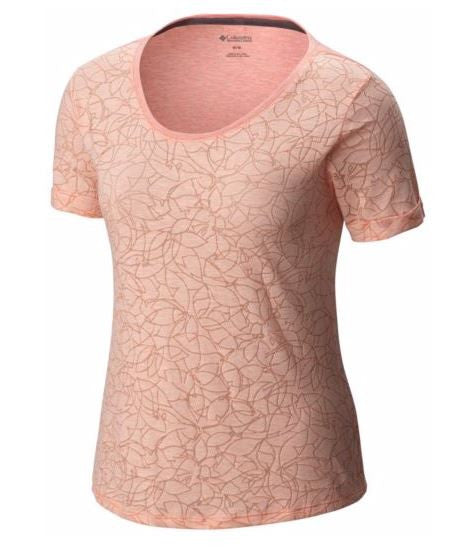 COLUMBIA T-SHIRT SANDY RIVER FEM.