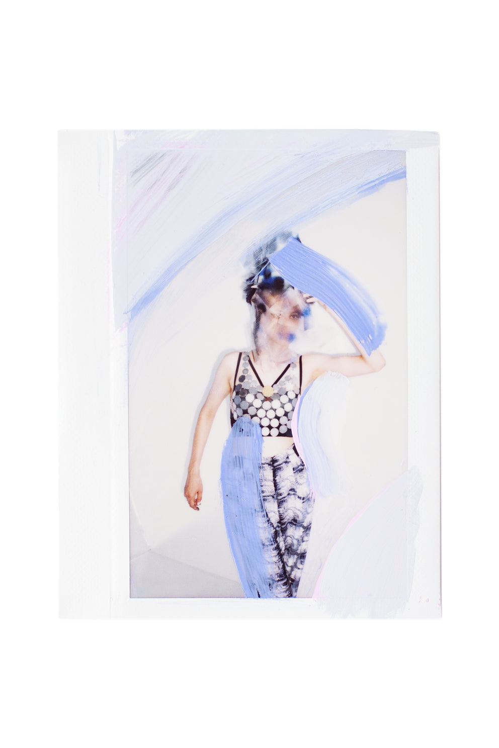 Sara VanDerBeek: Process Polaroid from Tar Fashion Issue 4