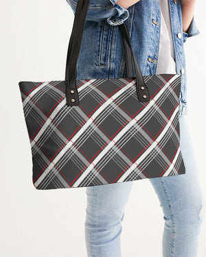 Plaid Stylish Tote