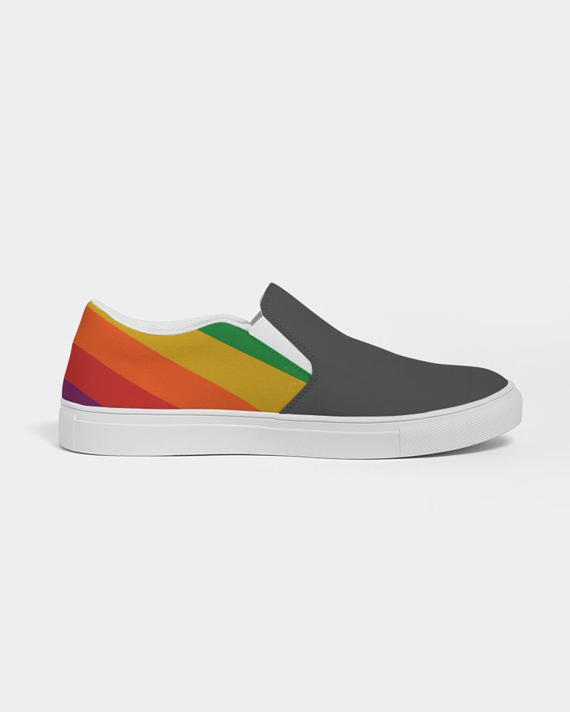 Apple Racing Livery Women's Slip-On Canvas Shoe