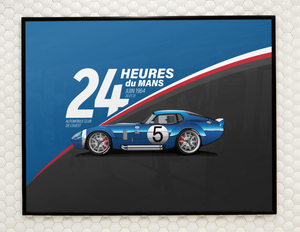 24 Hours of Le Mans Wall Art