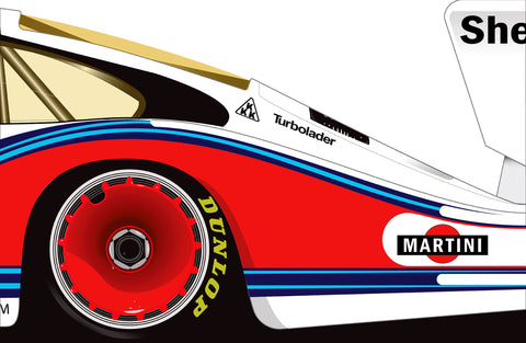 Martini Porsche 935 - Canvas -  - Carrture - 1