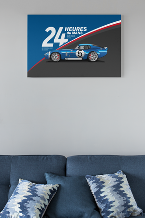 Ford Racing Wall Art