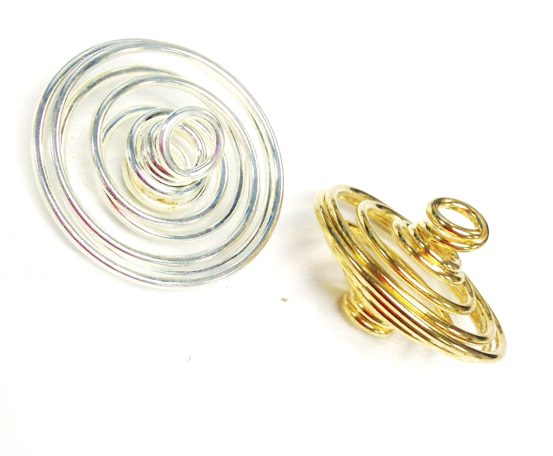 Spiral Bead Cage: Large 22mm (1 Pc)