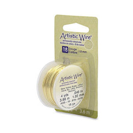 Artistic Wire - Natural Brass - Retail Spool