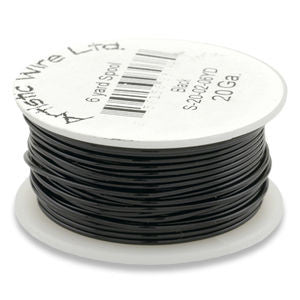 Artistic Wire - Black - Bulk Spool 1/4 lb