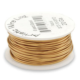 Artistic Wire - Bare Copper - Bulk Spool 1/4 lb