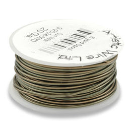 Artistic Wire - Antique Brass - Bulk Spool 1/4 LB
