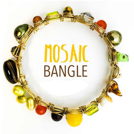 DIY Kit - Mosaic Bangle Bracelet - Blogger Kit