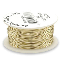 Artistic Wire - Natural Brass - Bulk Spool 1/4 lb