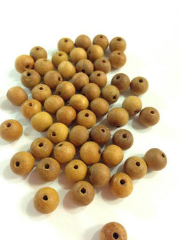 A&SB Wood Beads  - Sandalwood 8mm (1pcs)