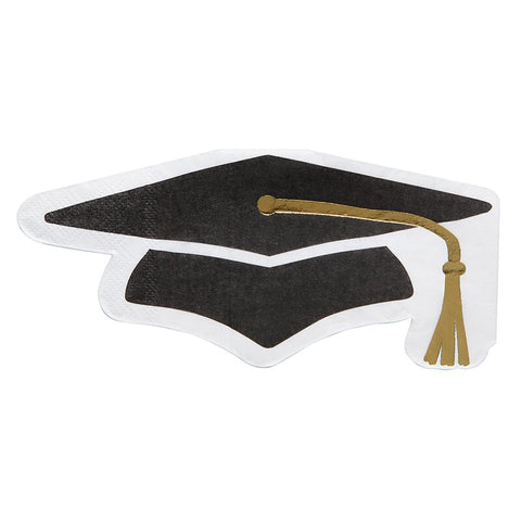 graduation cap napkins