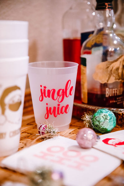 jingle juice christmas party cup