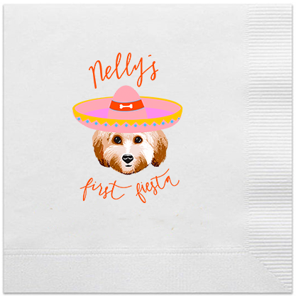 Full Color Custom Design Cocktail Napkins