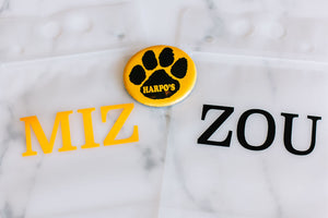 Mizzou tailgate drink pouch