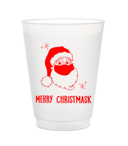 merry christmask cups