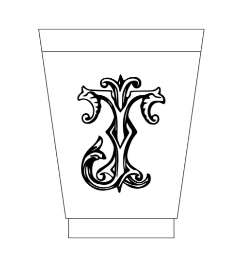 customized frost felx plastic wedding cups