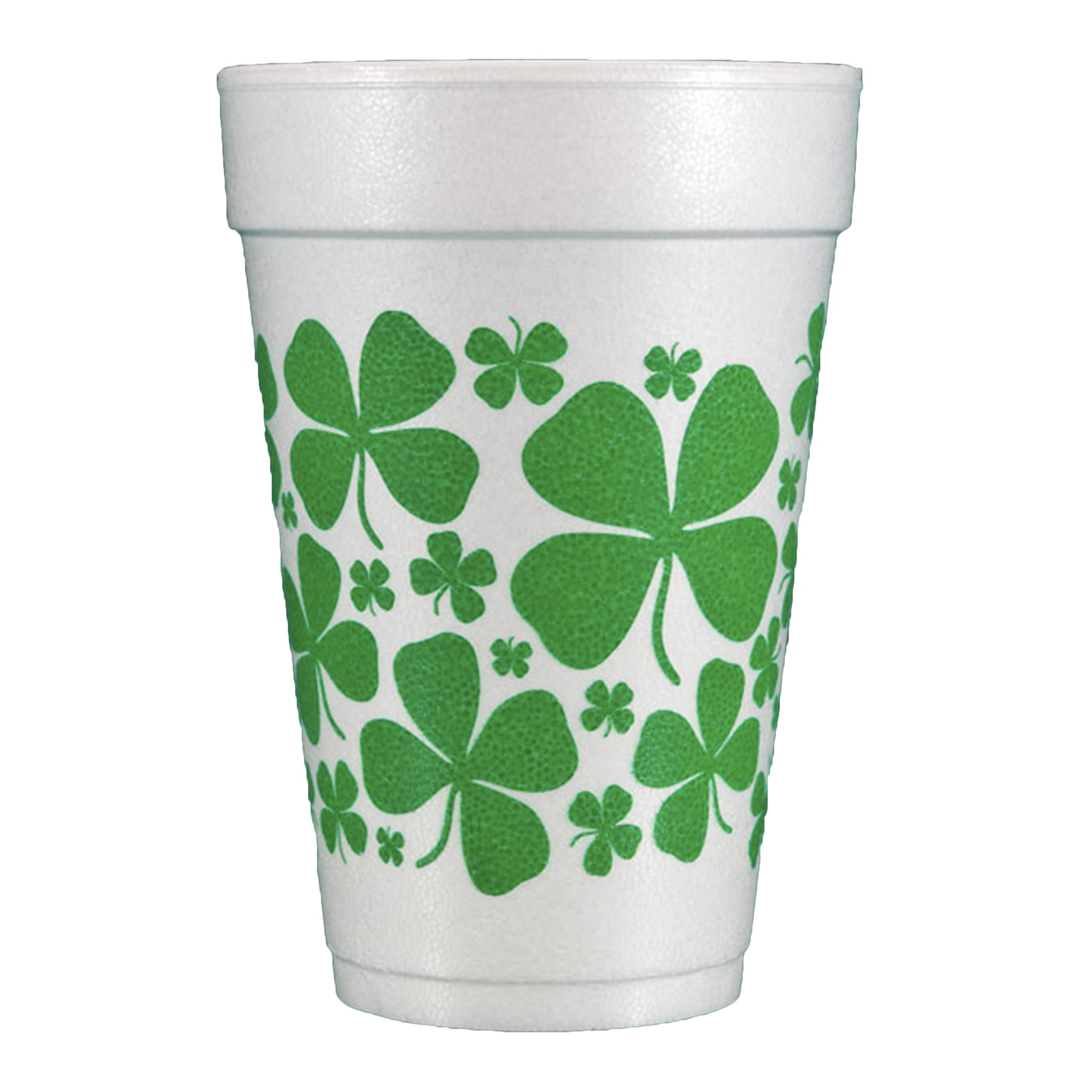 st. patrick's day shamrock cups
