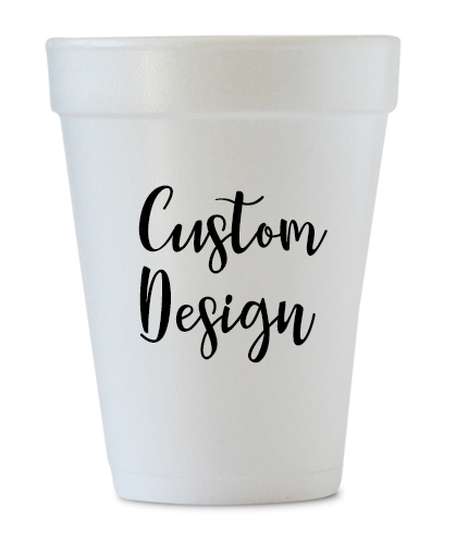 Custom Design Styrofoam Cups