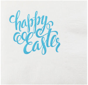 happy easter napkins