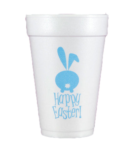 happy easter styofoam cups