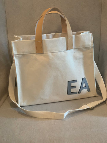 mini monogram canvas tote