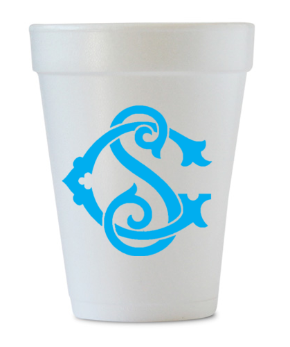 personalized monogram cups