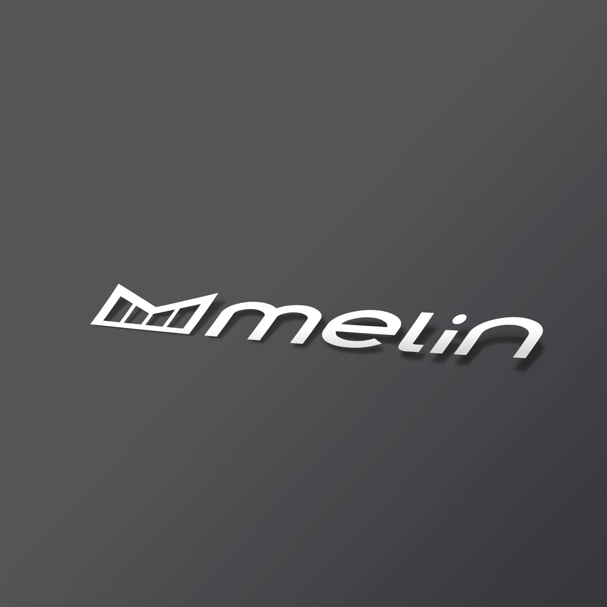 "melin 5"" Horizontal Decal"