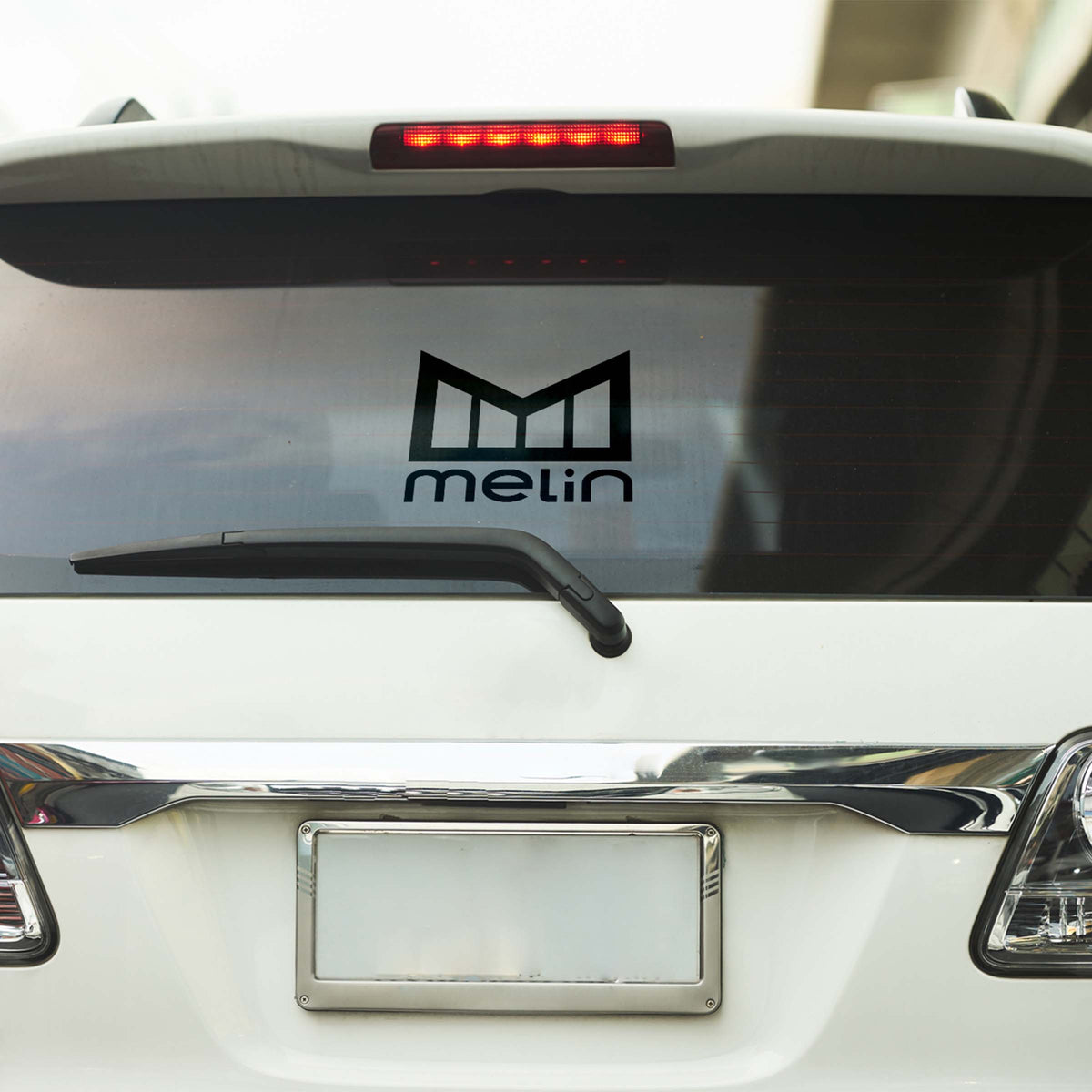 "melin 10"" Stacked Decal"