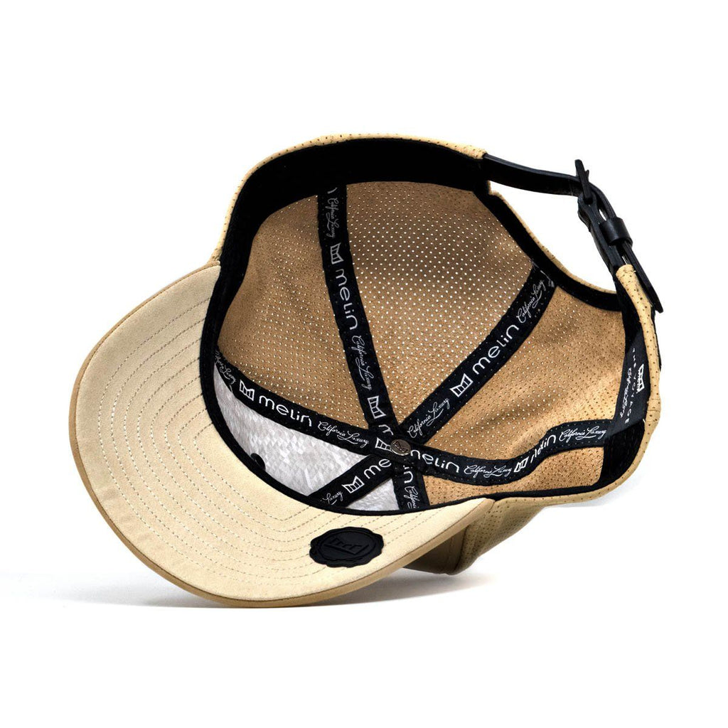 free shipping d49aa 8a377 Voyage Elite. Nubuck Leather Strapback Hat