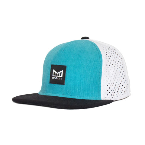 clarity-snapback-hat-summer-beach-turquoise-cap-waterproof-headwear-surfing