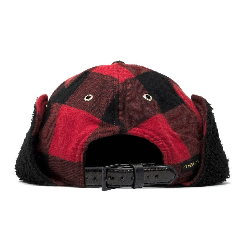 985d88a6d Lumberjack Men's Winter Flannel Strapback Hat with Ear Flaps - Melin