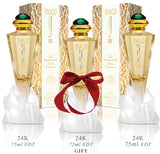 Jivago 24k for Women EDT 75ml x 3