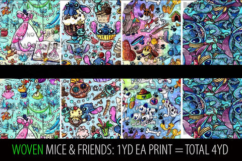 MICE & FRIENDS PACKS - WOVENS