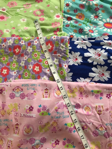 MIXED LOT #5 FLOWERS PRINCESS OVER 3.5YD