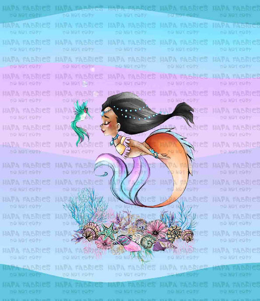PRINCESS MERMAIDS - KIDS PANELS