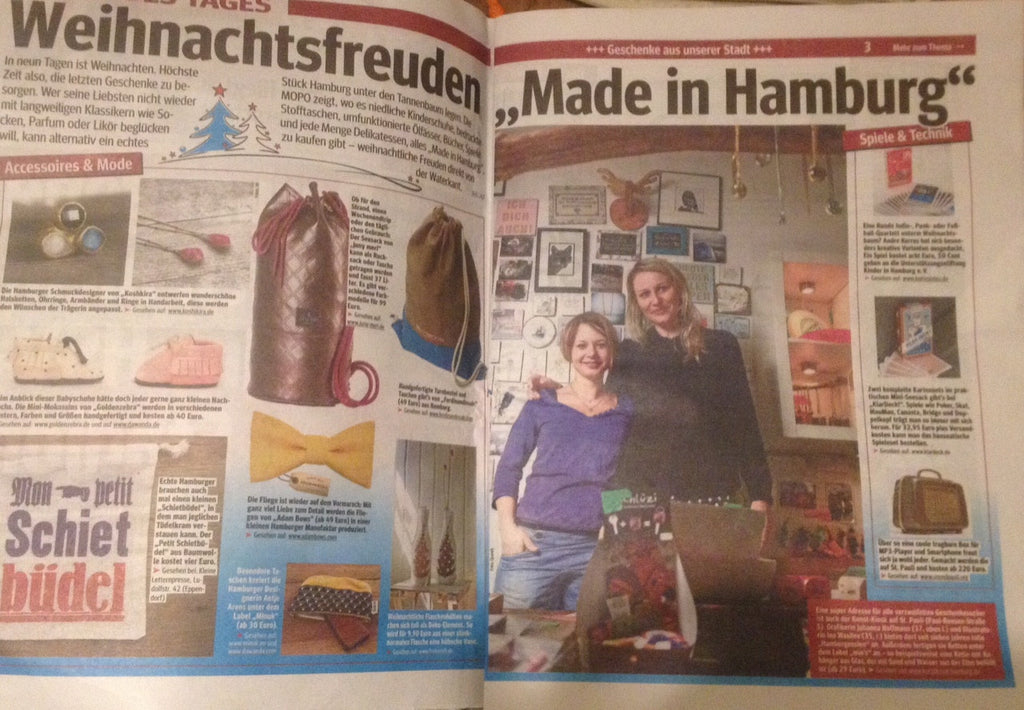 """Made in Hamburg"" Mopo"