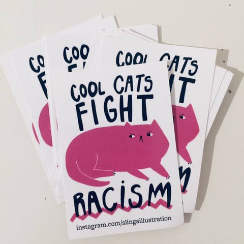 Sticker Fight Racism