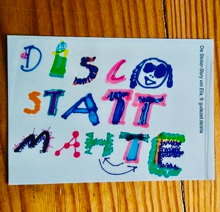 DiSCO STATT MATHE Sticker