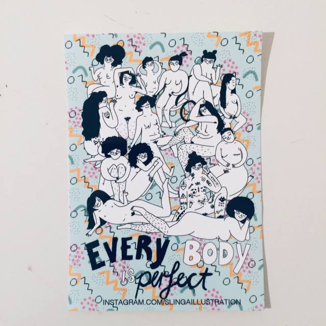Sticker Everybody Perfect