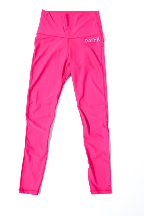 Capital Set Leggings (Hot Pink)